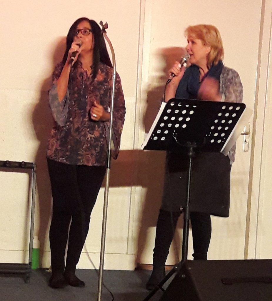 Elvira en Lineke