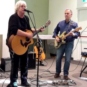 Jos Jongeling en Chris Knieriem van Daily Folk